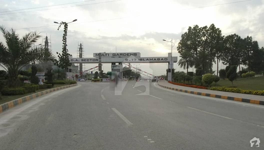 Main Double Road Plot Is Available For Sale