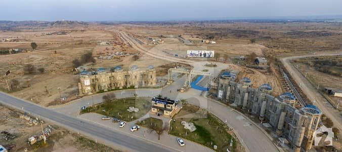 01kanal  Overseas Block Residential Plot File Is Available For Sale On Installments In Blue World City Rawalpindi