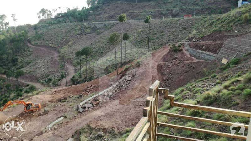6 Marla Plot For Sale Right On Main Murree Expressway