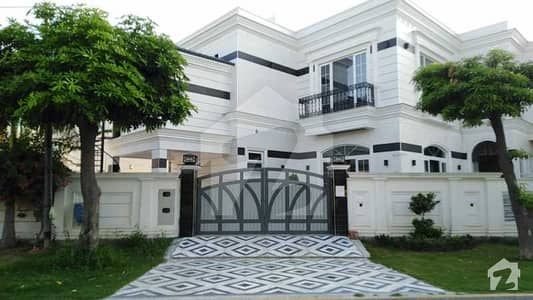 42 Marla Fully Furnished Corner Villa For Sale In J Block Of EME Society Lahore