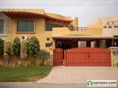 12 Marla Beautiful Design Bungalow With Basement Is Available For Sale In Askari 10