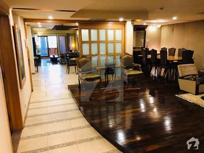 12 Marla 3 Bedroom Luxury Fully Furnished Apartment For Rent In Mall Of Lahore