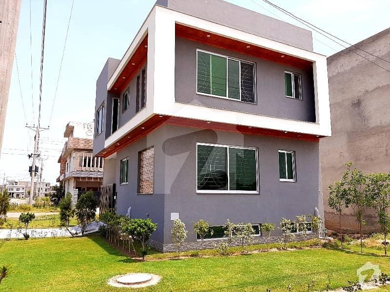 3 Marla Corner Plus Full Basement Brand New Lavish House Available For Sale In Formanites Housing Scheme