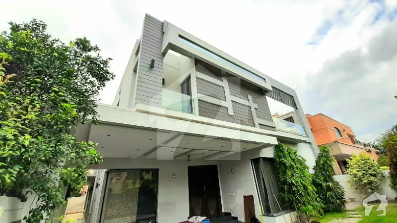 Ultra Modern One Kanal Luxurious New Bungalow Located At Heart Of Phase 4 Near Park