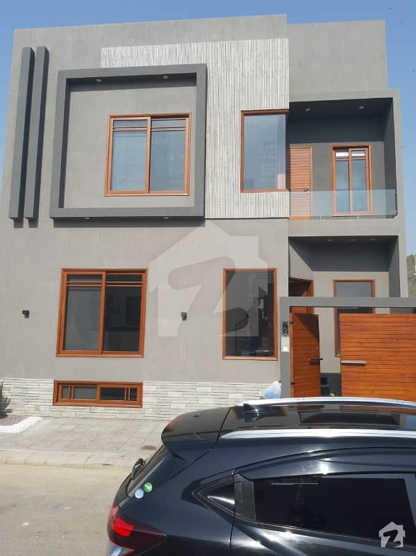 Chance Deal 100 Sq Yards West Open Beautiful Modern Bungalow Brand New With Basement In Prime Location Of Dha Phase 8 Karachi