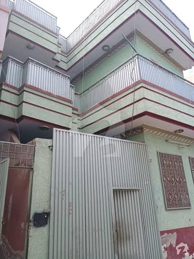 کینال ٹاؤن پشاور میں 8 کمروں کا 5 مرلہ مکان 1.5 کروڑ میں برائے فروخت۔
