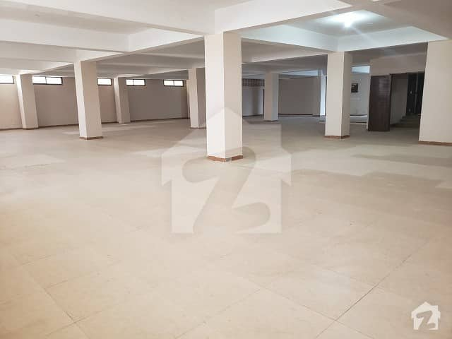 Garment Factory For Sale Around 1100 Sq Yards Constructed 50 Kw Light 8 Pound Gas