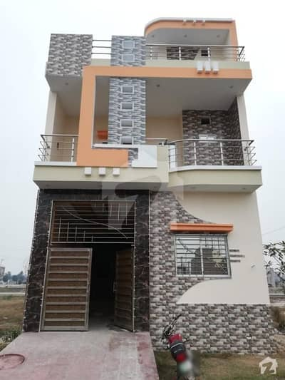 3.75 Marla Double Storey House Is For Sale In Sitara Park City Jaranwala Road Faisalabad,1050 Sq Ft Area, 50 Ft × 20 Ft, 50 Ft Width Of Road, House # 637b, Street # 7, Ground Floor,1- Drawing Room,1- Garage, 1- Bedroom,1- Tv Lounge,1- Kitchen