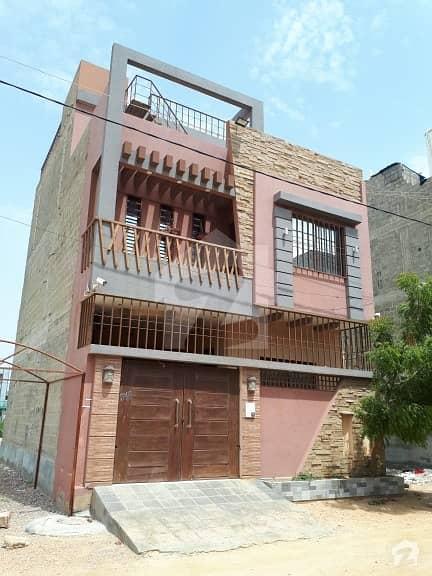 اللہ والا ٹاؤن کورنگی کراچی میں 5 کمروں کا 3 مرلہ مکان 1.1 کروڑ میں برائے فروخت۔