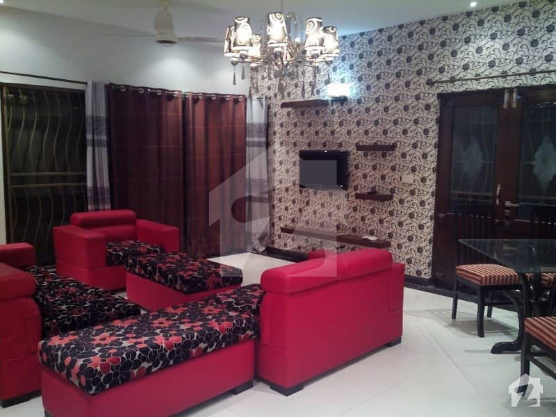 1 Kanal Fully Furnished 5 Bedrooms Dha Phase 5 Block D