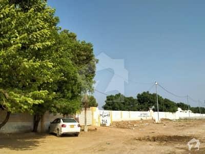1000 Yards Three Side Corner Plot For Sale In Govt Teacher Society