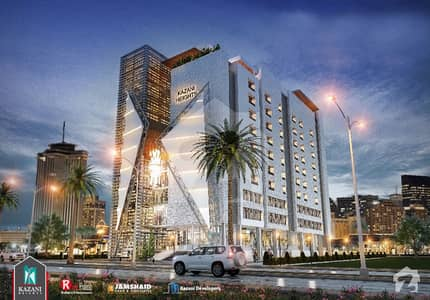 One Bed Apartment For Sale On Two Years Installment Plan At Express Highway Islamabad