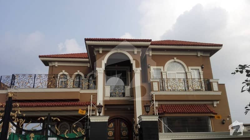 Kanal Brand New Owner Build Triple Unit Spanish Villa Fully Basement At Hot Location Of Dha Phase 7 Most Attractive And Reasonable Price Must Visit Before Decision
