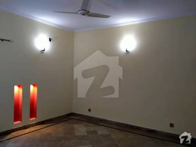 1 Kanal Upper Portion 3 Bedrooms For Rent In DHA Phase 4 Block CC