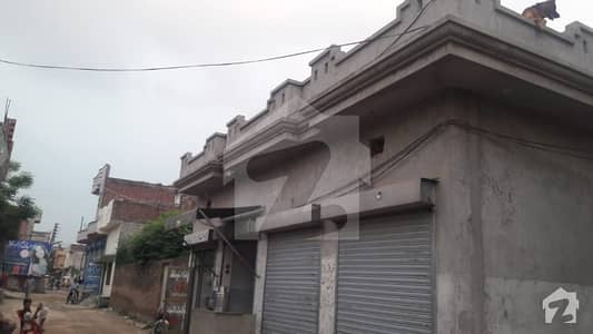 8 Marla Corner House With 4 Shops For Sale