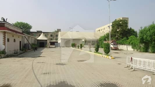 18.5 Kanal Commercial Plot For Sale On Airport  Road Lahore