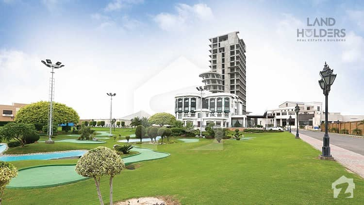 Facing Park Paid Prime Location Plot For Sale In J Block Phase 2 Bahria Orchard