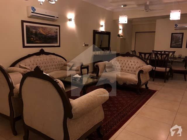 Fully Furnished And Fully Equipped Luxury Apartment Of 2 Bed Rooms Available For Rent