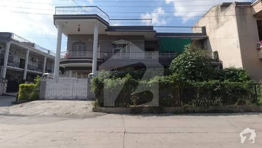 10-Marla House With Excellent Architecture Is Available For Sale In Khayaban-E-Sir Syed Rawalpindi