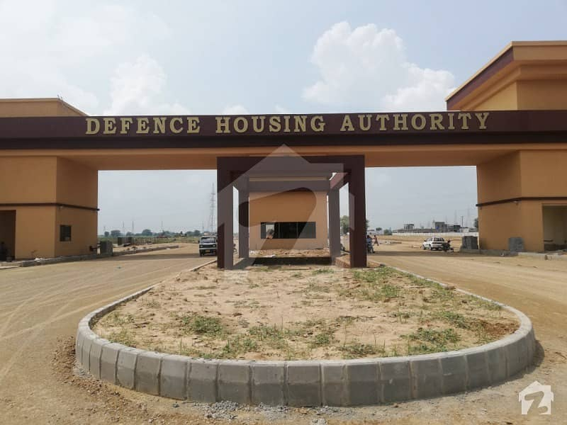 10 Marla Allocation Plot File Is Available For Sale In DHA Defence Gujranwala