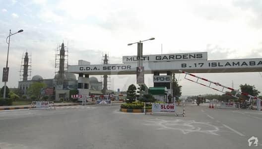 8 Marla Plot For Sale In Block C Multi Gardens B17 Islamabad