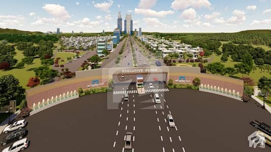 5 Marla Plot File Available On Easy Installments In Motorway City Islamabad