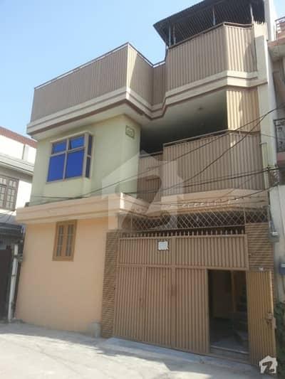 ورسک روڈ پشاور میں 5 کمروں کا 5 مرلہ مکان 90 لاکھ میں برائے فروخت۔