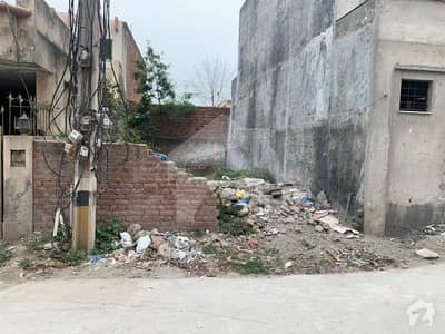 3.5 Marla Plot For Sale In Nayab Sector Khuda Bux Colony