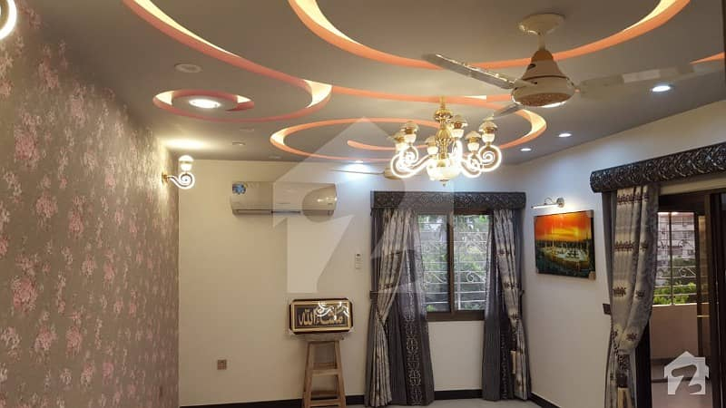Well Designed And Decorated Primely Located West Open Corner Park Facing Fancy Flat For Sale