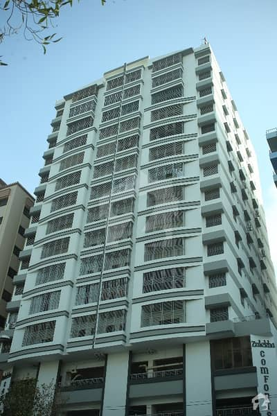 A Well Built Zulakha Comfort 4 Bed Flat Is Up For Sale In Gulshan-e-Iqbal Town