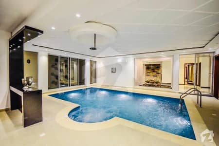 Abid Associate Presents Swimming Pool Home Theater Gym Full Basement 1 Kanal House For Sale