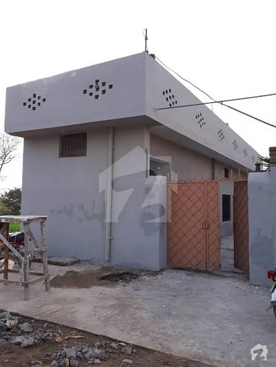 4 Marla Used  Single Storey House For Sale In Lohi Bher