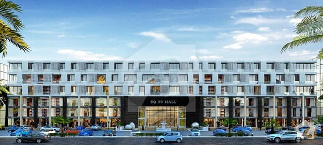 1st Floor Commercial Shop For Sale On Installment In SQ 99 Mall