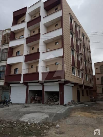 North Karachi 700  Square Feet Flat Up For Sale