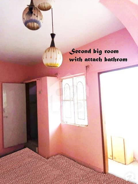 648  Square Feet Flat Available For Sale In North Karachi Near Nagan Chorangi