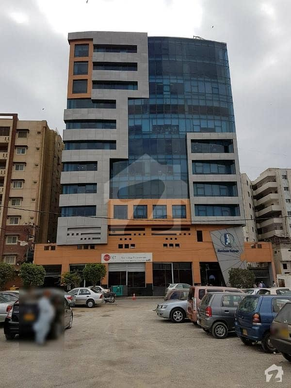 Semi Furnished 1650 Square Feet Office Space Available For Rent In Horizon Tower Clifton Block 3