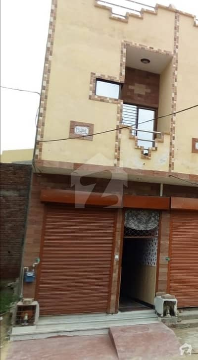 Commercial House For Sale With Shop