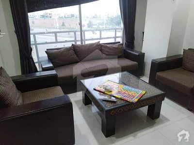 Recidencial  Flat For Sale Fully Furnished 1 Bed Cc Commercial Opposite To Future World School And Near Dolphin Chock Bahria Town Phase 8 Rawalpindi