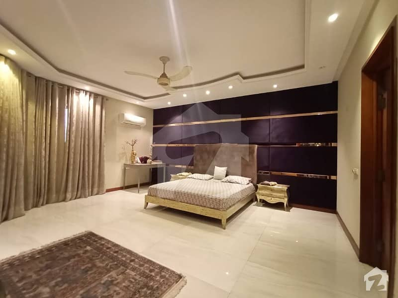 D H A Lahore 2 Kanal Mazher Munir Design House With Fully Basement Full Furnished House 100 Original Pics Available For Rent