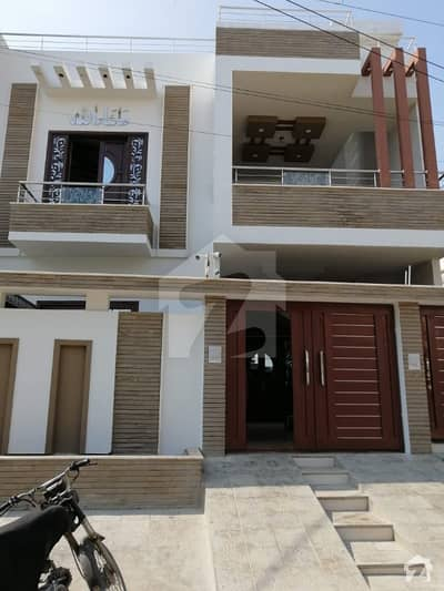 Brand New 300 Sq Yd  Luxury House For Sale In Gulistan-e-jauhar