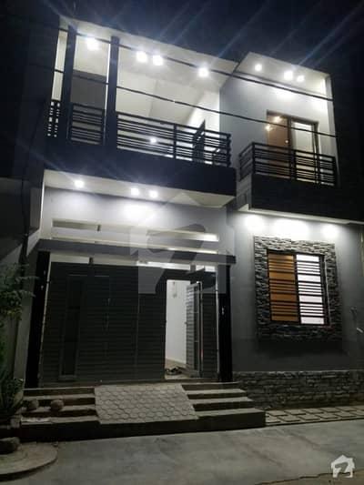 گلشنِ معمار - سیکٹر آر گلشنِ معمار گداپ ٹاؤن کراچی میں 4 کمروں کا 5 مرلہ مکان 1.4 کروڑ میں برائے فروخت۔
