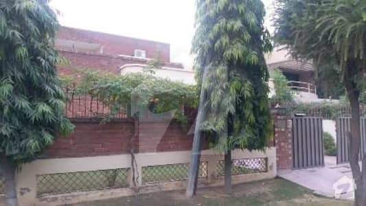 1 Kanal Corner Facing Park Owner Build Bungalow For Sale In DHA Phase 3 Near To Mosque Park McDonald