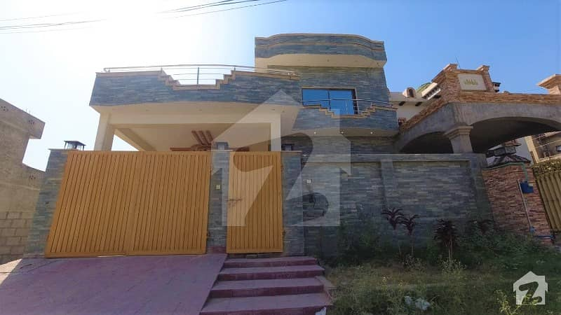 10-Marla House With Excellent Architecture Is Available For Sale In Samarzar Housing Society Rawalpindi