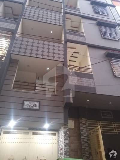 3 Bed Lounge Apartment For Sale In manzoor Colony