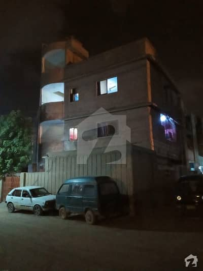 Furnished 84 Sq Yard Ground Plus 2 Floors House For Sale In Muslim Town North Karachi - Sector 11E