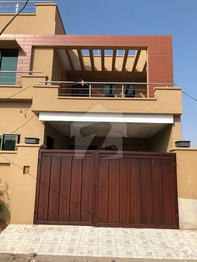 6  Marla Brand New  Modern Triple Storey House Available For Sale At Gated Colony