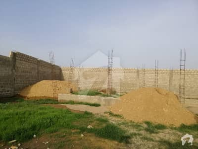 Farmhouses Scheme 45 karachi  RCC  construction    with water connectiona and electricity