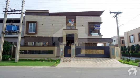 10 Marla Brand New Corner House For Sale In E Block Of State Life Phase 1 Lahore