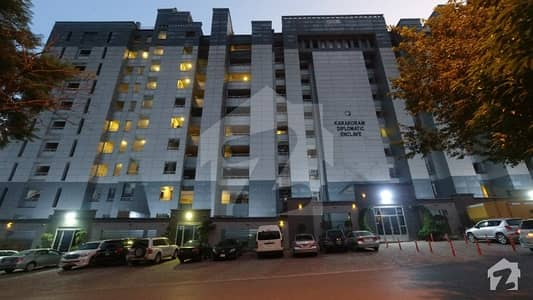 Spacious & Affordable 1st Floor Apartment For Sale In Karakoram Diplomatic Enclave Islamabad