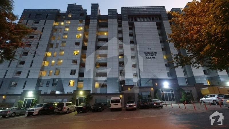 قراقرم ڈپلومیٹک انکلیو اسلام آباد میں 2 کمروں کا 11 مرلہ فلیٹ 5.59 کروڑ میں برائے فروخت۔